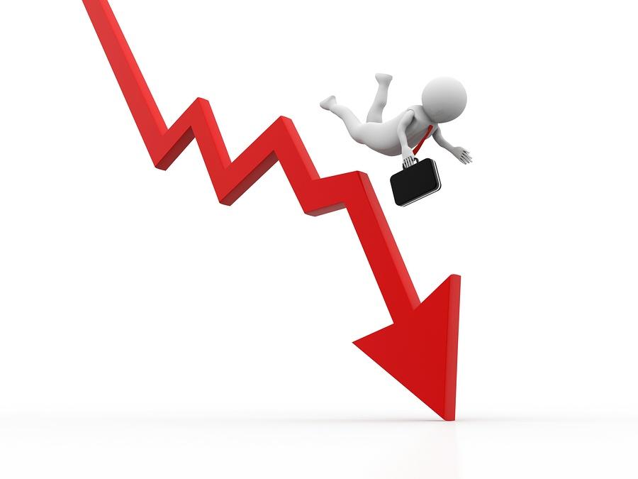 market crash simulator cashflow tool stick man falling down market graph