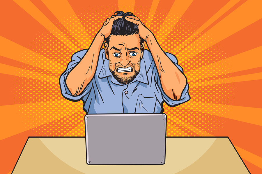 frustrated worker data entry cashflow modelling truth software