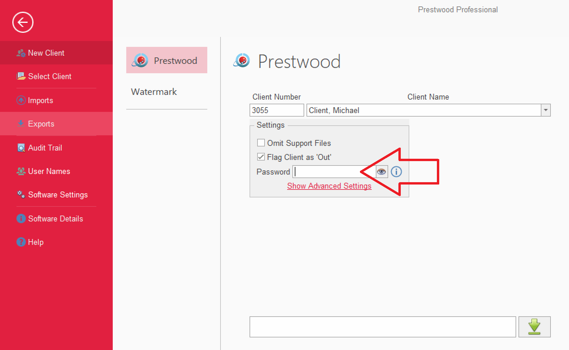 prestwood truth software release notes gdpr compliant export encryption password protection